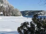 Lac en hiver #2